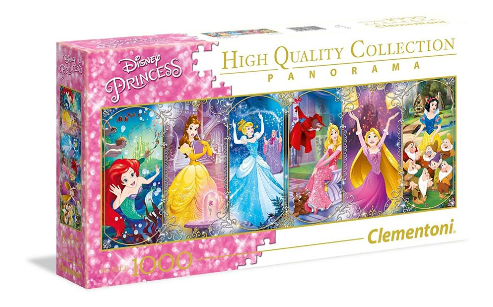 New Teenagers Adults Disney Princess Panorama 1000 Pieces Jigsaw Puzzle